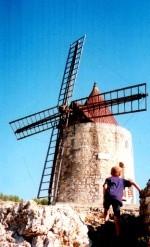 Provence - Mühle von Daudet