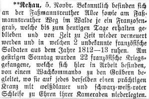Rehauer Tagblatt 5.11.1917