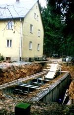 Klärgrubenbau 1983/84