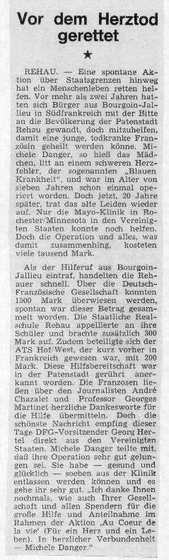 Rehauer Tagblatt 16.5.1973