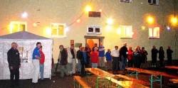 'Gartenfest' im Jugendgästehaus, mit echt böhmischer Live-Musik...