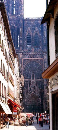 Durchblick zum Straßburger Münster