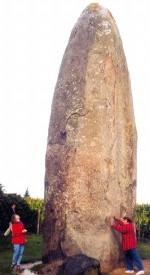 Menhir im Nordosten der Bretagne