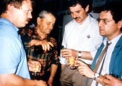 Weinprobe in St. Chef bei Noel Martin