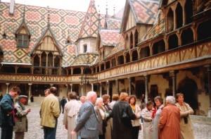 Burgund - Hôtel-Dieu in Beaune
