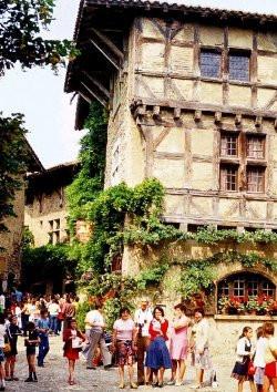 Die mittelalterliche Stadt Pérouges
