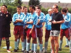Betreuung von Fußballern aus Bourgoin-Jallieu