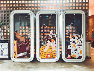 Airbnb Phonebooths