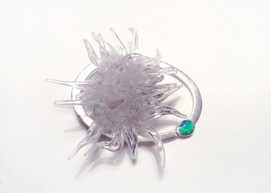 anemone - brooch