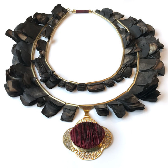 Three neckpieces for Emily: Selections From The Poetical Works Of Robert Browning