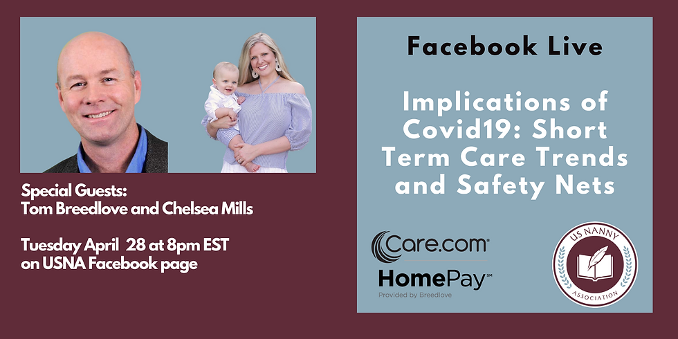 Implications of Covid19: short term care trends and safety nets