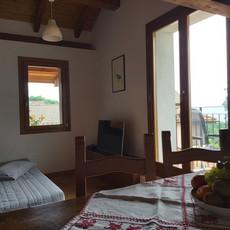 Wohnraum mit Schlafsofa Cuculo