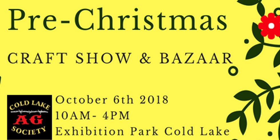 Pre-Christmas Craft Show & Bazaar