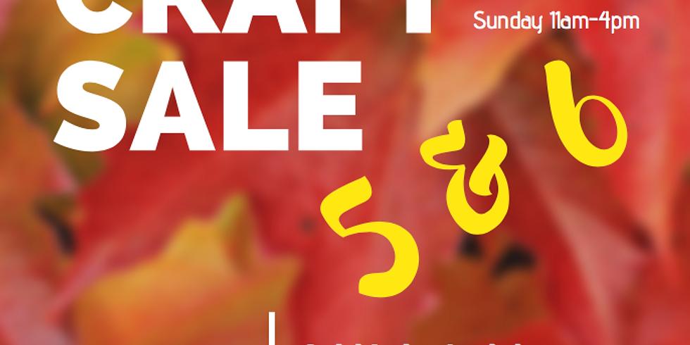 October Craft Sale
