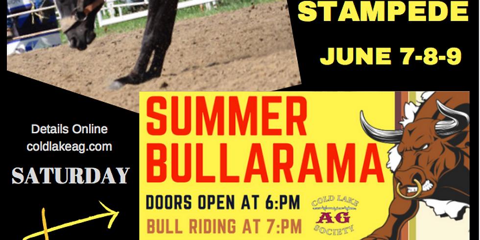 Summer Stampede / Bullarama & Dance !