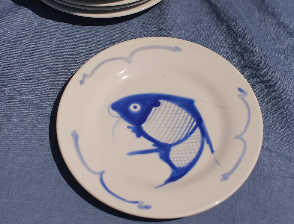 Aegean Fish Salad Plate - Set of 6
