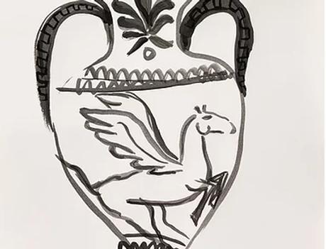 Pegasus Amphora