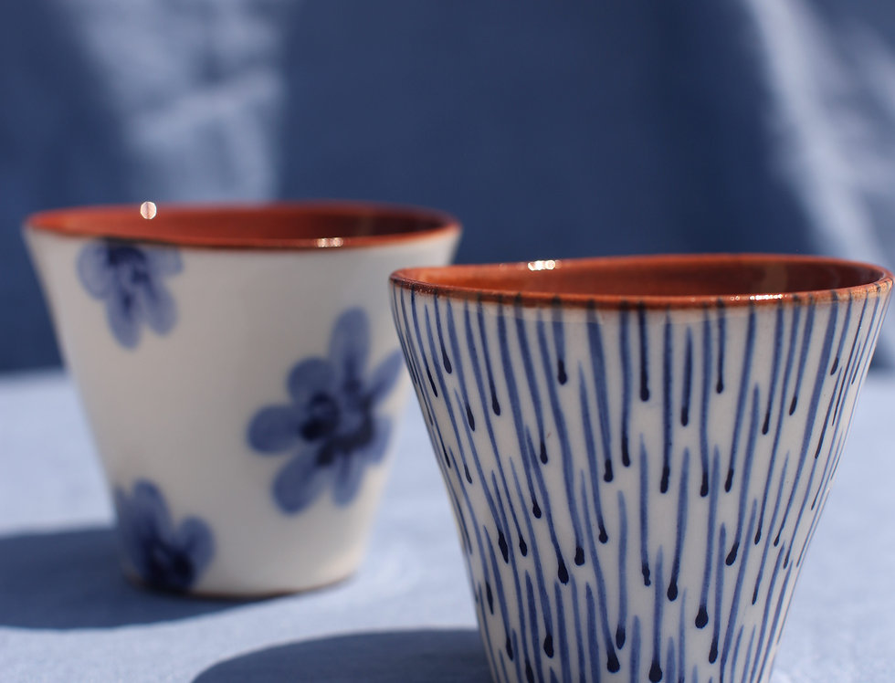 Wine Cup Set - Aegean Collection - Mismatch Combo