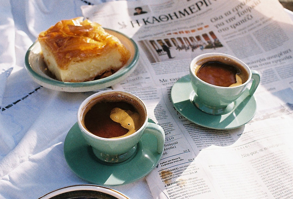 Hydra Espresso Cup and Saucer Set