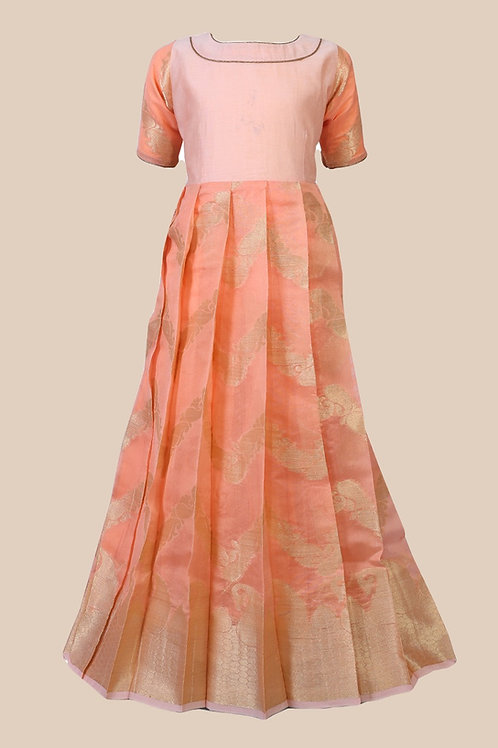 Shivangi Girls Mango Waves Long Gown !!! – AM93PE