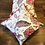 Hawa Mahal Cushion Cover in Floret in Red Floral (12″)