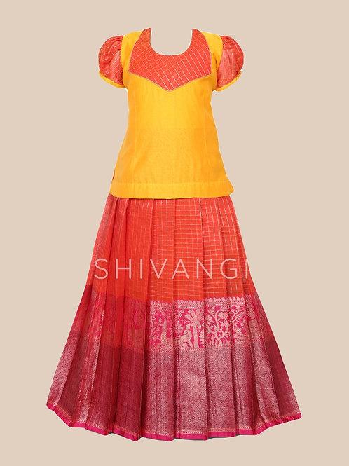 Shivangi Girls Blooming Tree Pavadai Set !!! – AM88PK