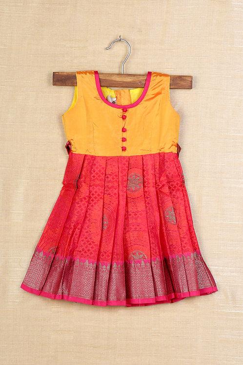 Shivangi Red Frocks for Girls !!!