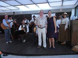 muzikanten tijdens de Canarische Avond