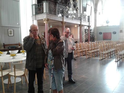 Audiotour voor mensen met een visuele beperking in de Gertrudiskerk van Bergen op Zoom