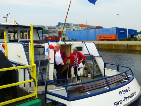 Boottocht met de Frisia