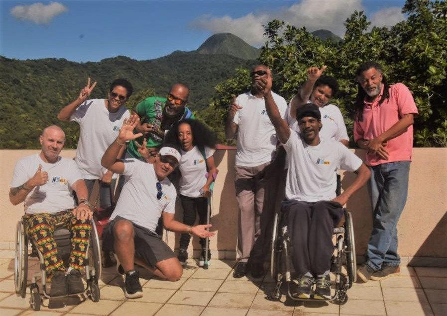 L'équipe d'Handi FM 972