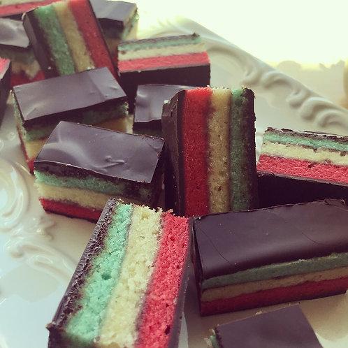 12 Rainbow Cookies