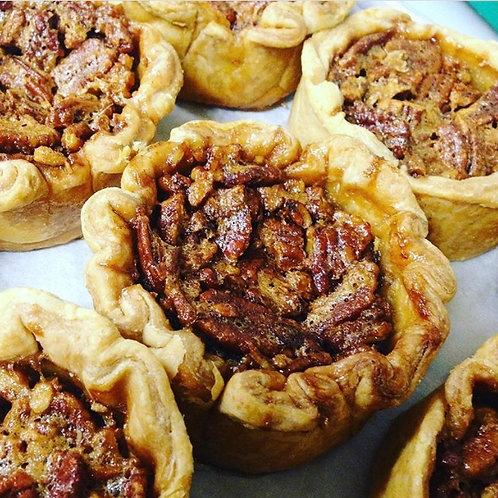 9 inch Bourbon Pecan Pie