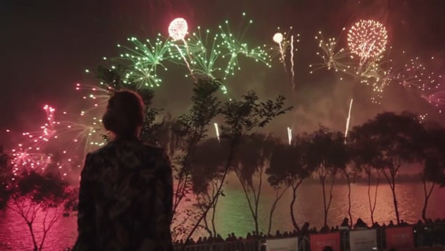 2019 Hanwha Seoul International Fireworks Festival  - life is colorful