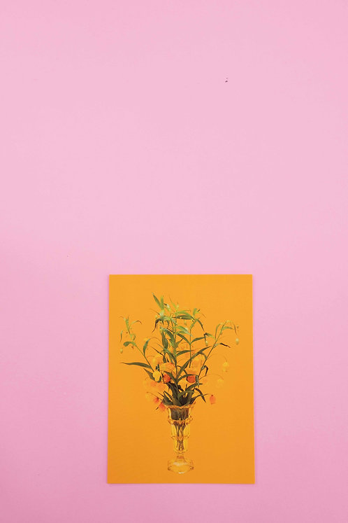 """Glöggli Blumen"" Postkarte"