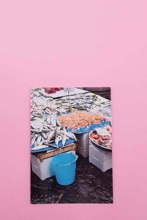 """""""Zuppa di pesce"""" Postkarte"""