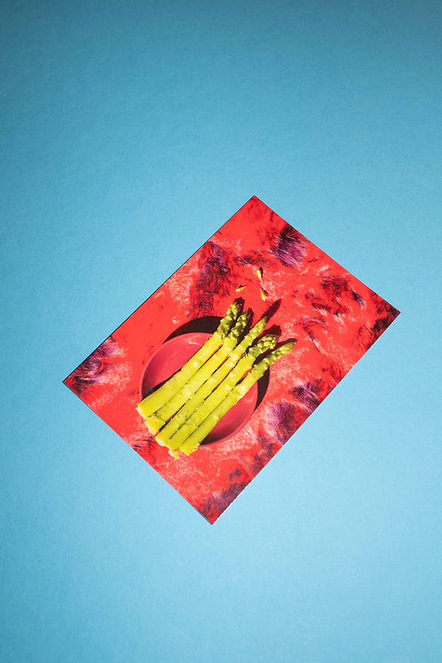 """Spargel"" Postkarte"