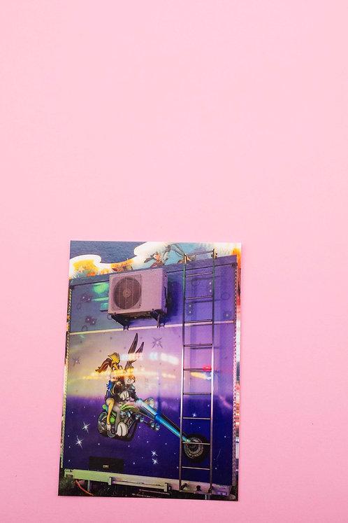 """""""Chilbi"""" Postkarte"""