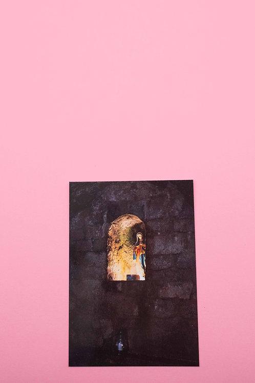 """""""Madonna"""" Postkarte"""