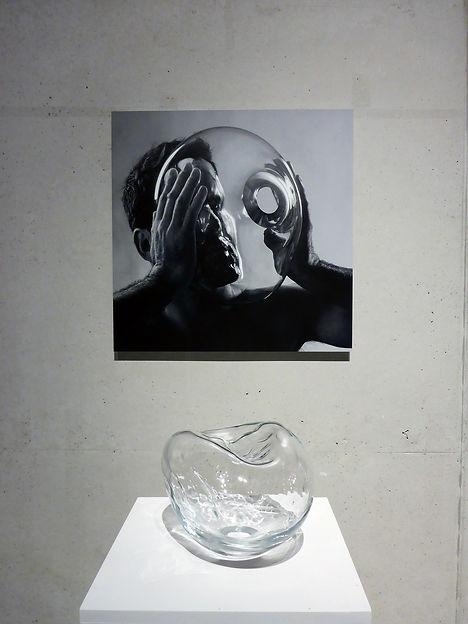 In my face, Stijn Wuyts, glaskunst, glaskunstenaar, IKA, Mechelen, glasblazen, installatie