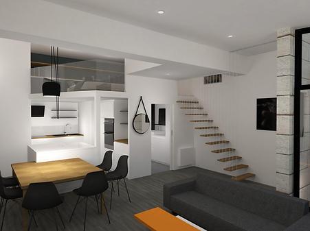 projet 3 d loft  Suiise