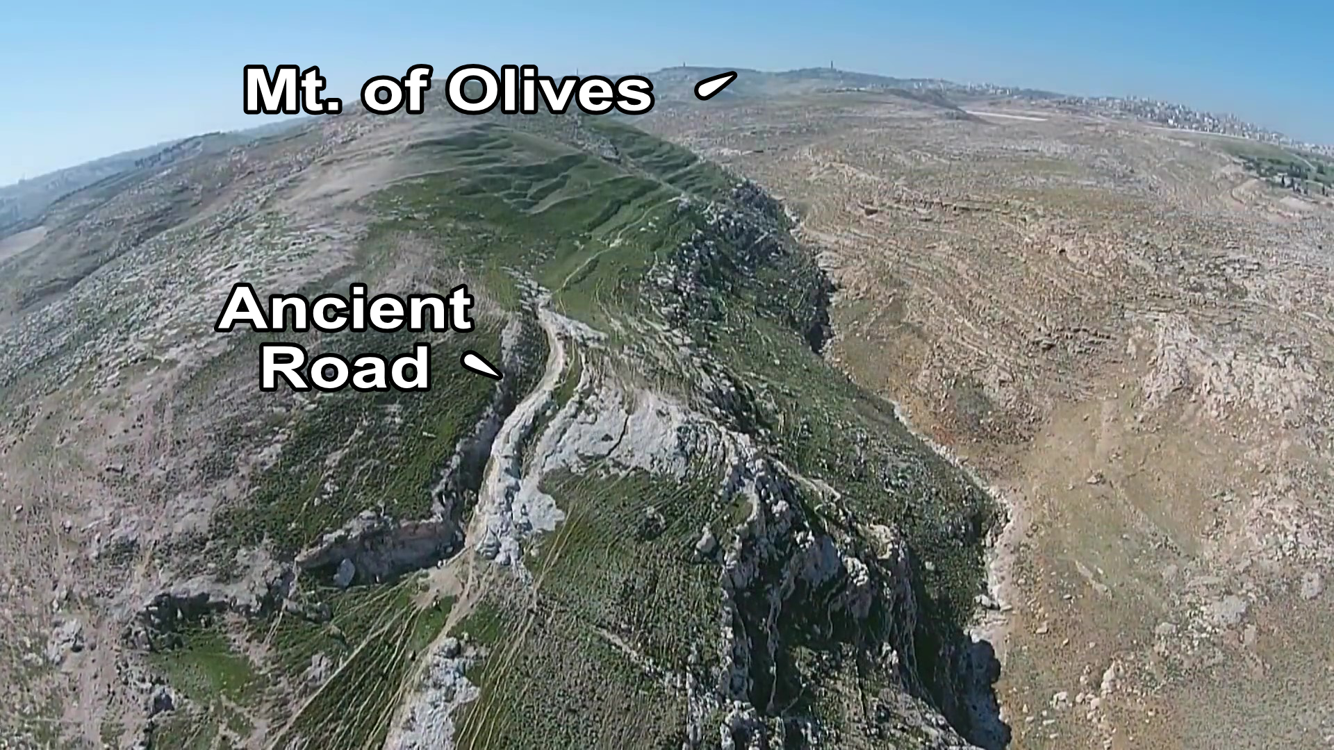 Road from Jericho to Jerusalem Ancient R