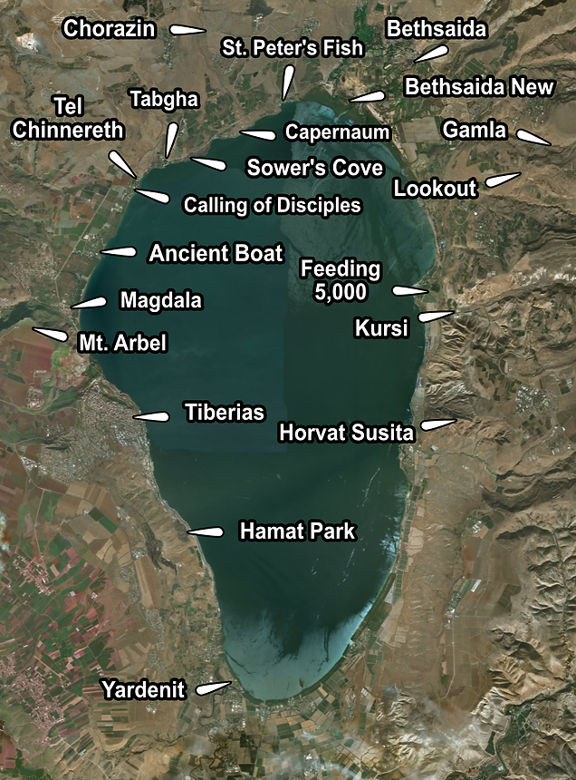 Sea of Galilee Places of Interest.png