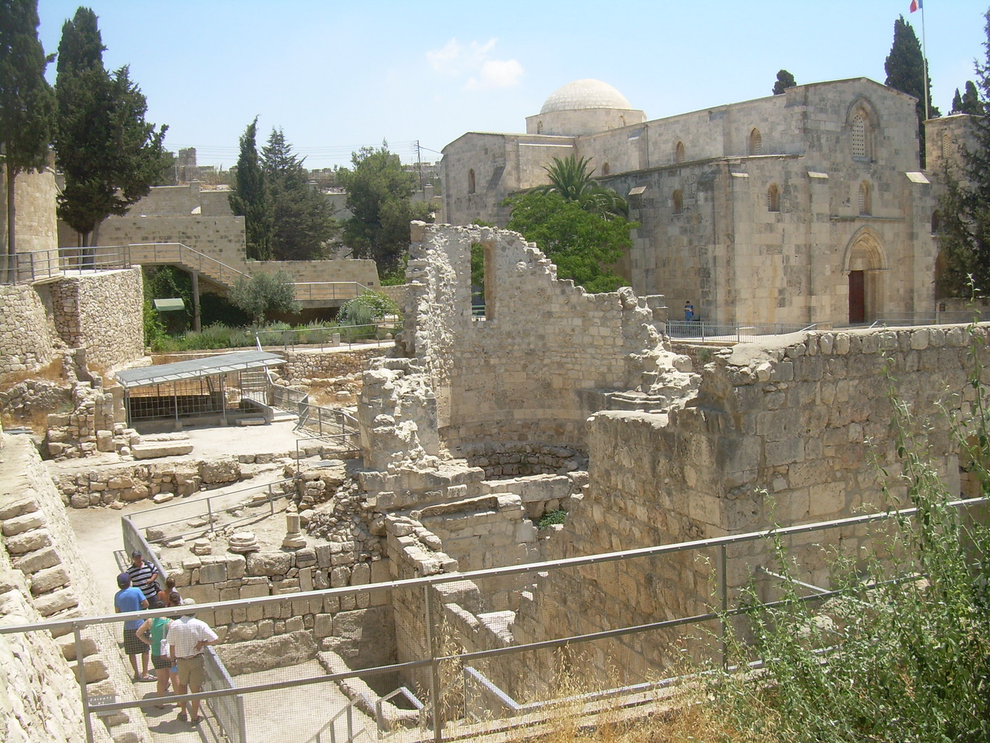 Pool of Bethesda St. Anne Church9.jpg