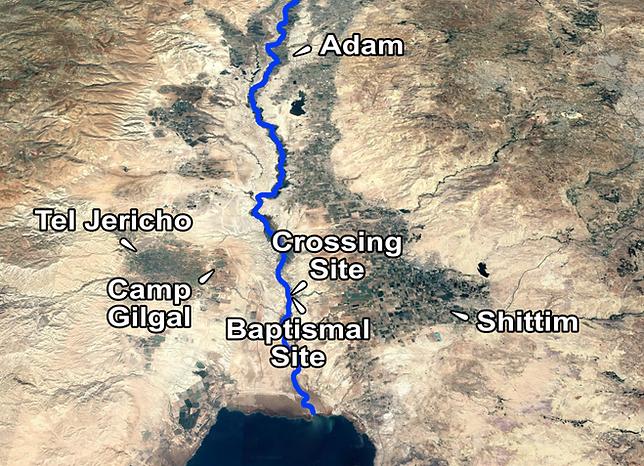 Jordan River Crossing Places of Interest
