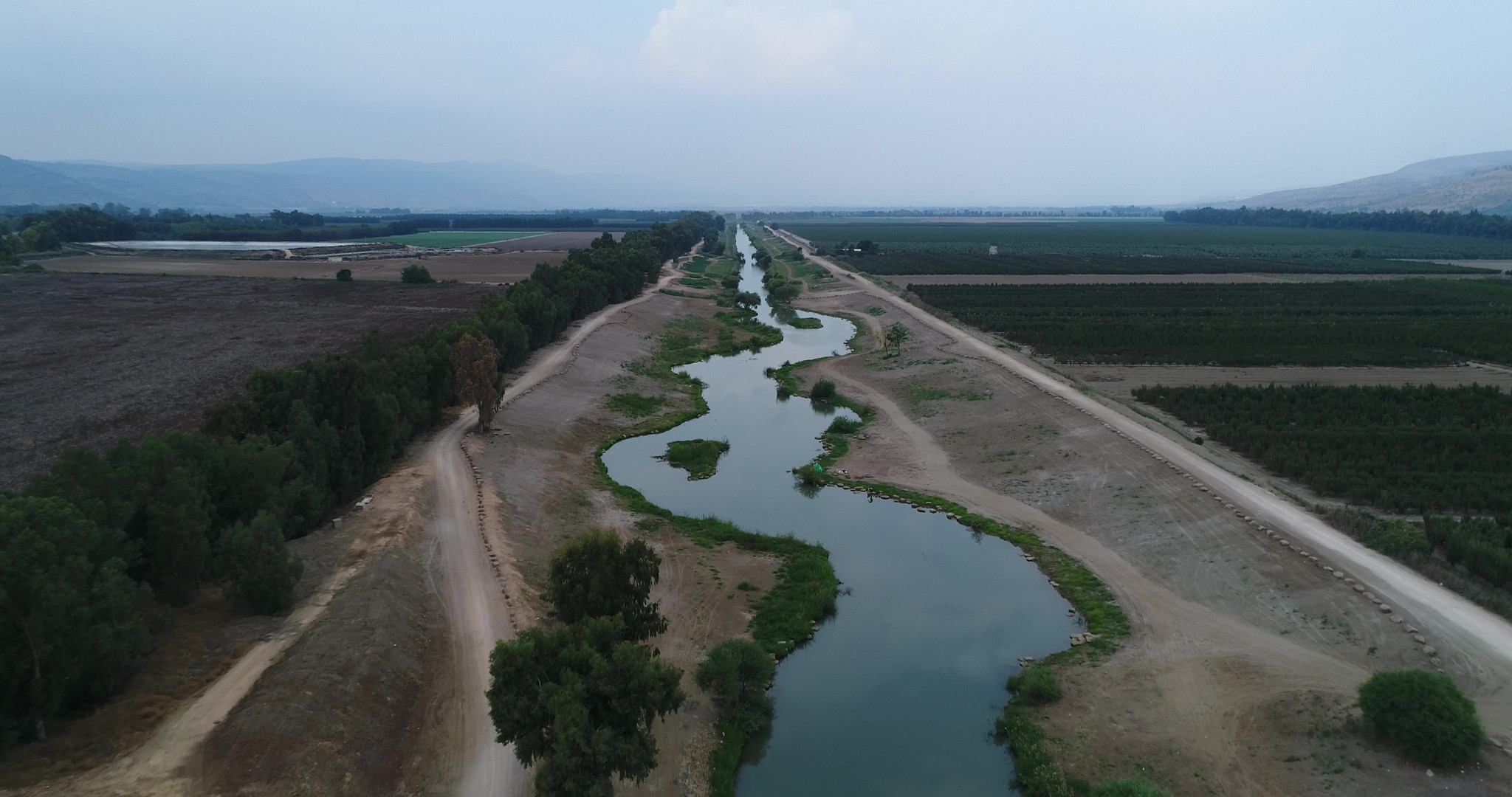 Jordan River by Viewing Area 3
