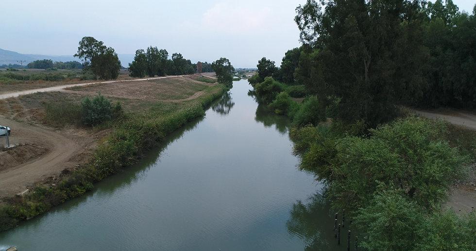 Jordan River by Viewing Area