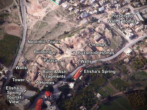 Jericho Tel Places of Interest (Custom).