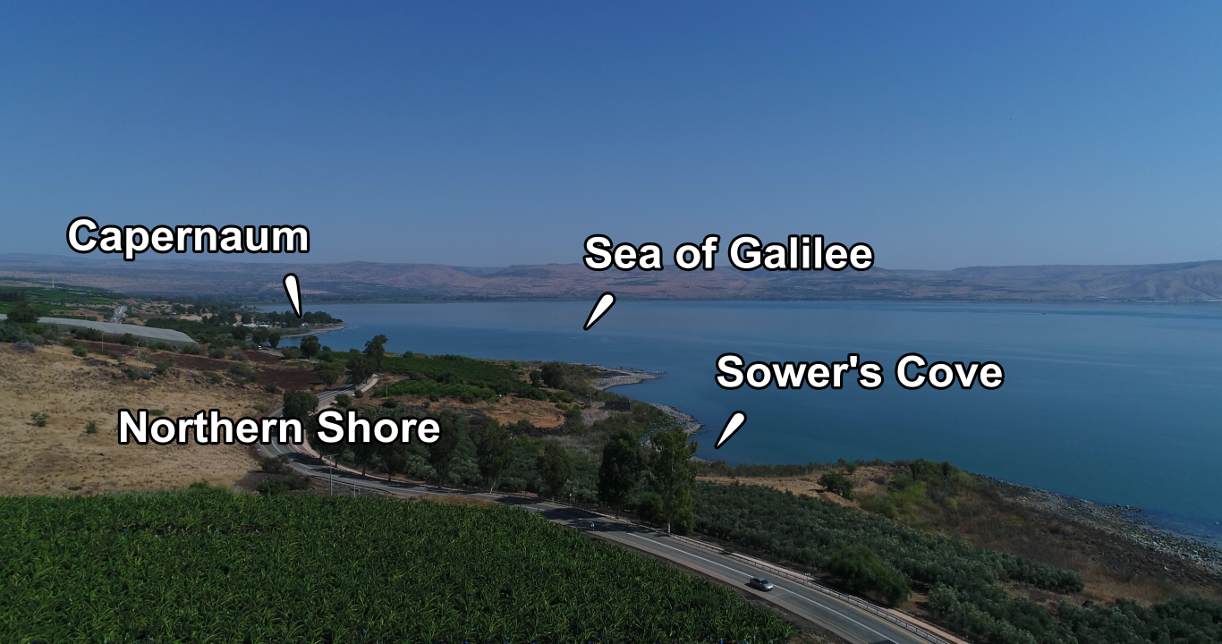 Sower's Cove Places of Interest Closeup