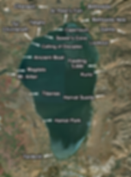 Sea of Galilee Places of Interest (Mediu